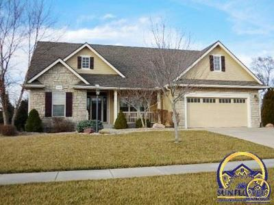 Topeka Single Family Home For Sale: 3716 SE 31st St
