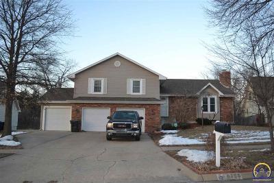 Topeka Single Family Home For Sale: 5756 SW Woodbridge Dr