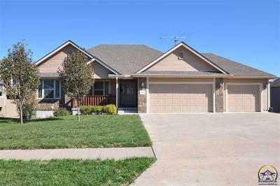Topeka Single Family Home For Sale: 4404 SE Gemstone Ln