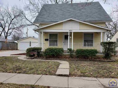 Topeka KS Single Family Home For Sale: $92,900