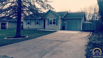 Auburn KS Single Family Home For Sale: $140,000