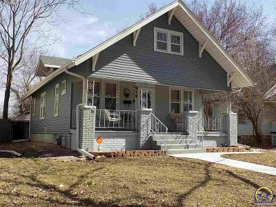 Topeka KS Single Family Home For Sale: $104,900