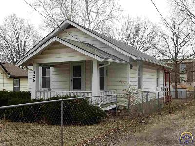Topeka KS Single Family Home For Sale: $19,950