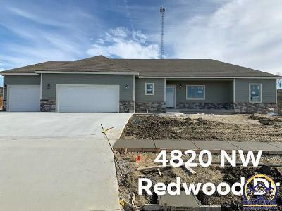 Topeka Single Family Home For Sale: 4820 NW Redwood Dr