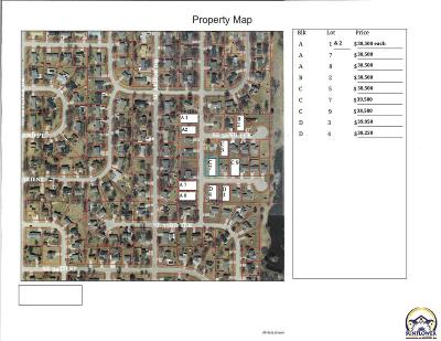 Topeka Residential Lots & Land For Sale: SE 33rd St