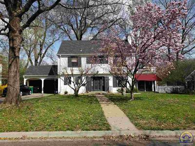 Topeka Single Family Home For Sale: 1820 SW Oakley Ave
