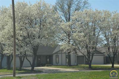 Topeka Single Family Home Under Cont Take Back-Ups: 1967 SW Arrowhead Rd