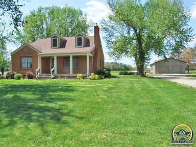 Topeka Single Family Home For Sale: 2241 (3 Acres) SW Glick Rd