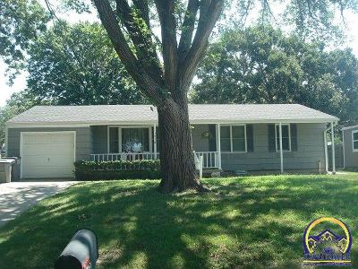 Emporia Single Family Home For Sale: 1316 Sunnyslope St