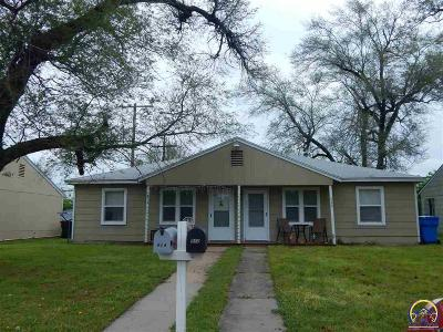 Topeka Multi Family Home For Sale: Per Remarks SW Brendan Ave