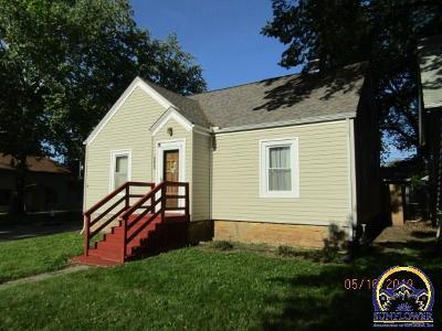 Topeka KS Single Family Home For Sale: $49,950