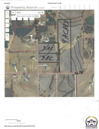 Topeka Residential Lots & Land For Sale: 7050 Approx NE Silver Rd
