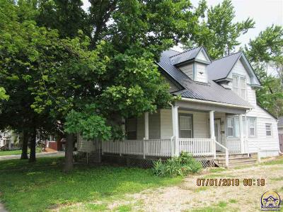 Osage City Single Family Home Under Cont Rt Of Refusal: 326 Market St