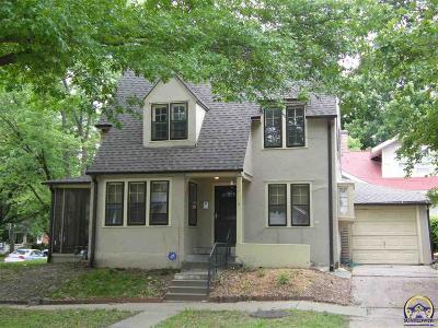 Topeka Single Family Home For Sale: 1816 SW Huntoon St
