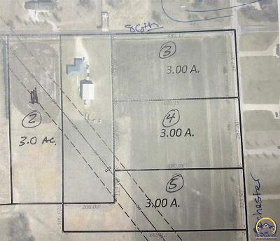 Topeka Residential Lots & Land For Sale: 8433(Lot 2,4,5) NW Rochester Rd