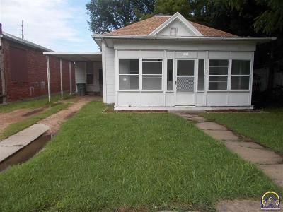Emporia Single Family Home For Sale: 313 Union St