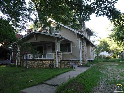 Topeka Single Family Home For Sale: 1612 SW Fillmore St