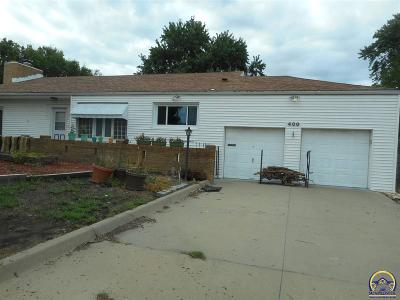 Topeka Single Family Home For Sale: 400 SW 27th St