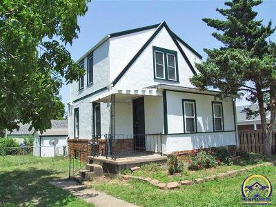 Topeka Single Family Home For Sale: 1620 SE 29th St