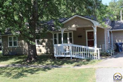 Osage City Single Family Home For Sale: 327 S Second St