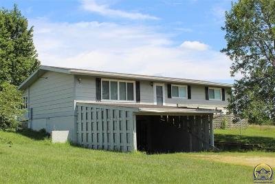 Osage City Single Family Home For Sale: 21776 S Us Highway 56