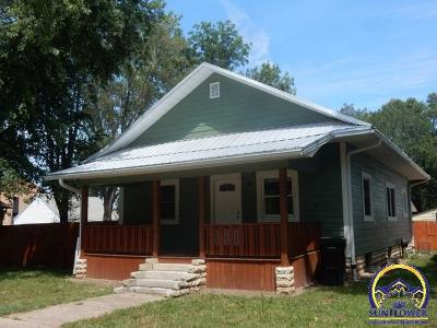 Cottonwood Falls Single Family Home For Sale: 312 Cherry