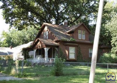 Topeka Single Family Home For Sale: 1151 SW Medford Ave