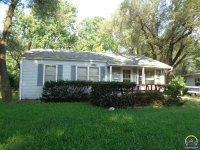 Topeka KS Single Family Home For Sale: $68,999