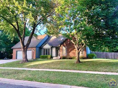 Topeka KS Single Family Home For Sale: $267,900
