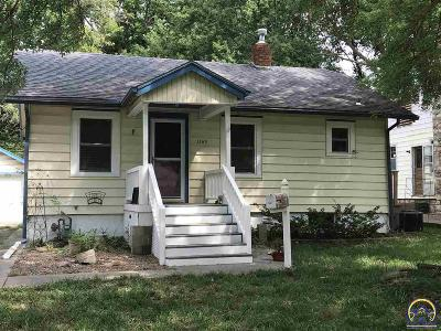Topeka Single Family Home For Sale: 1168 SW Webster Ave