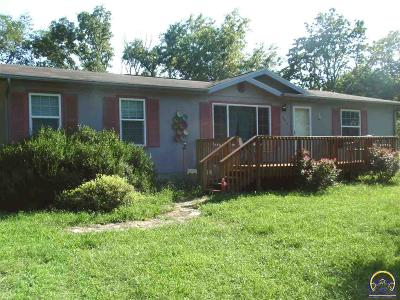 Quenemo KS Single Family Home For Sale: $84,500