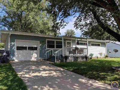Emporia KS Single Family Home For Sale: $146,900