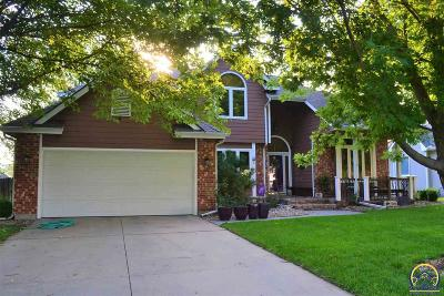 Topeka Single Family Home For Sale: 3708 SW Lincolnshire Rd