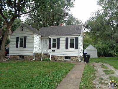 Topeka Single Family Home For Sale: 719 SW Wayne Ave