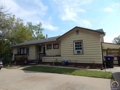 Topeka KS Single Family Home For Sale: $79,900