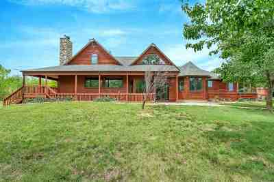 Valley Center Single Family Home For Sale: 12001 N Rock Rd