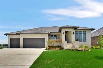 Wichita Single Family Home For Sale: 3614 N Beach Club Cir