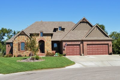 Wichita Single Family Home For Sale: 219 N City View Cir