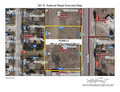 Andover Residential Lots & Land For Sale: 301 S Andover Rd