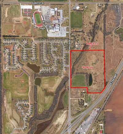 Wichita Residential Lots & Land For Sale: Hillside & 45th St. North, N Of The NE/C