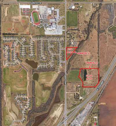 Wichita Residential Lots & Land For Sale: Hillside & 45th St. North, N. Of NE/C