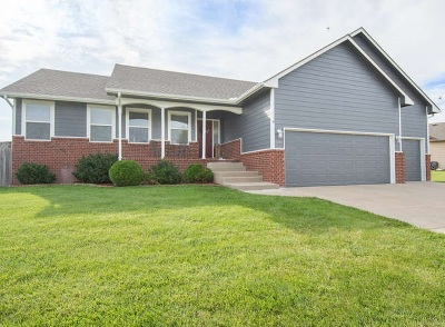 Goddard Single Family Home For Sale: 1208 N Hopper Dr