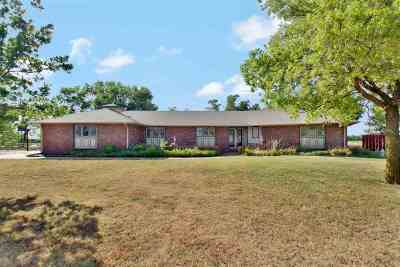 Valley Center Single Family Home For Sale: 12020 W 85th St N