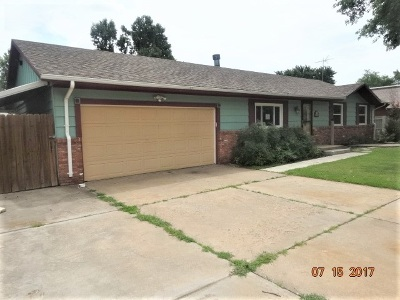 Wichita KS Single Family Home For Sale: $116,900
