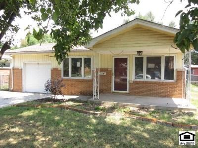 Haysville Single Family Home For Sale: 254 N Sunnyside Rd