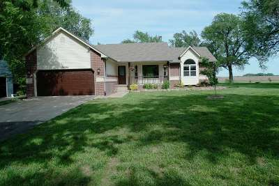 Rose Hill Single Family Home For Sale: 16044 S County Line Rd