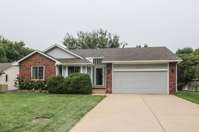Mulvane Single Family Home Contingent: 601 N Erin