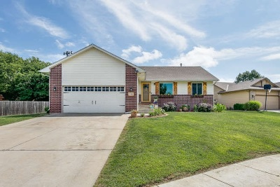 Derby Single Family Home For Sale: 1318 S Hilltop Rd