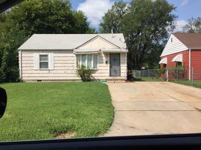 Wichita Single Family Home For Sale: 1421 N Piatt Ave
