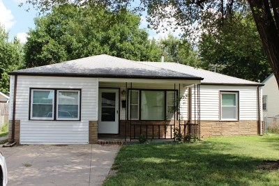 Single Family Home For Rent: 1344 S Edwards